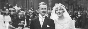 Duff Cooper's wedding to Lady Diana Manners, 1919